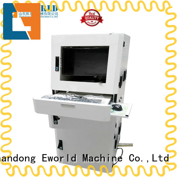 Eworld Machine good safety glass cutting machine price dedicated service for industry