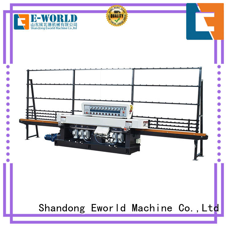 trade assurance glass round corner machine size manufacturer for global market