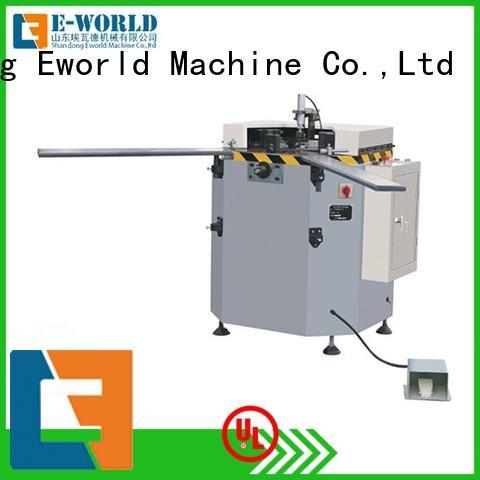 Eworld Machine technological upvc and aluminum window machine supplier for global market