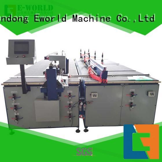 Eworld Machine stable performance glass cutting equipment dedicated service for machine