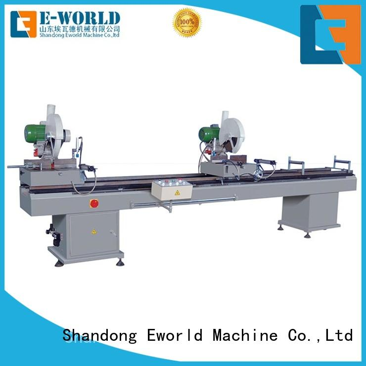 Eworld Machine new upvc welding machine price order now for manufacturing