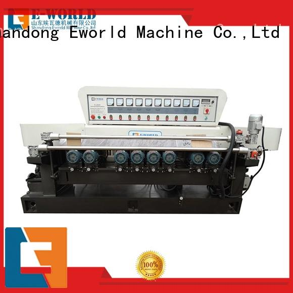 functional shaped glass edge polishing machine supplier for global market Eworld Machine