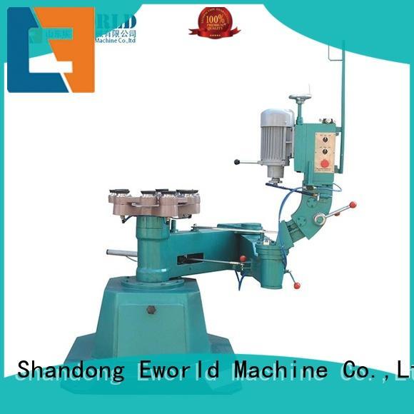 Eworld Machine functional glass straight line edging machine supplier for global market
