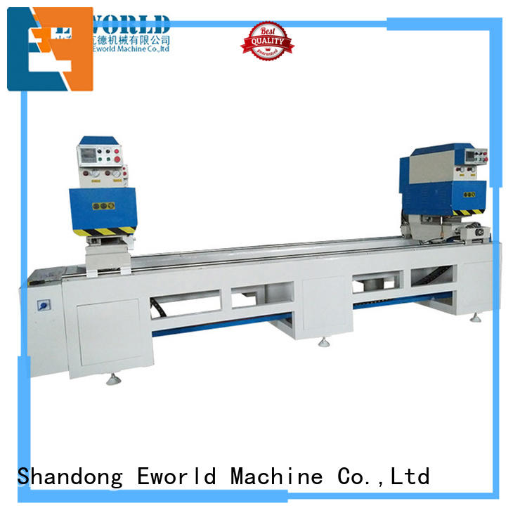 Eworld Machine professional PVC window production line factory for importer