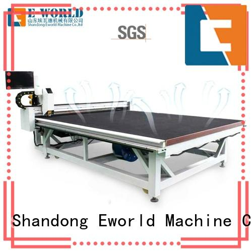 Eworld Machine air glass cutting tilting table foreign trader for industry