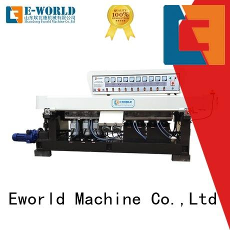 Eworld Machine technological glass edging machine for sale supplier for global market
