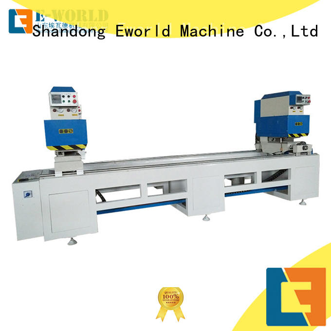 Eworld Machine single upvc welding machine for sale supplier for manufacturing