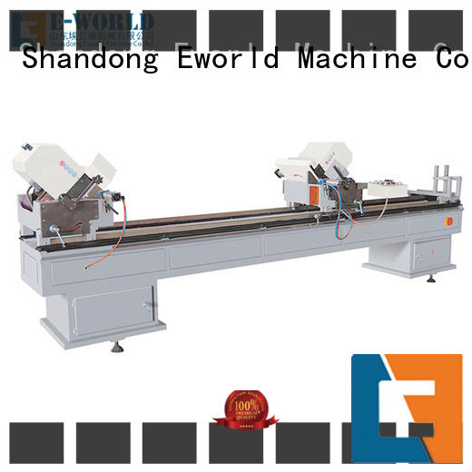 Eworld Machine latest upvc window machine price order now for manufacturing
