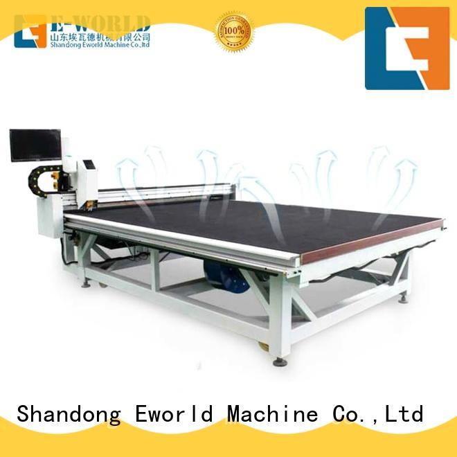 Eworld Machine arc cnc glass cutting machine exquisite craftsmanship for machine