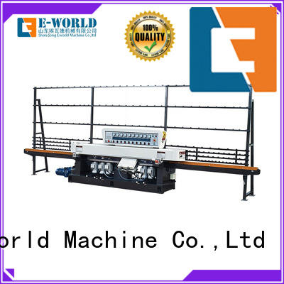 Eworld Machine beveling shape glass grinding machine supplier for industrial production
