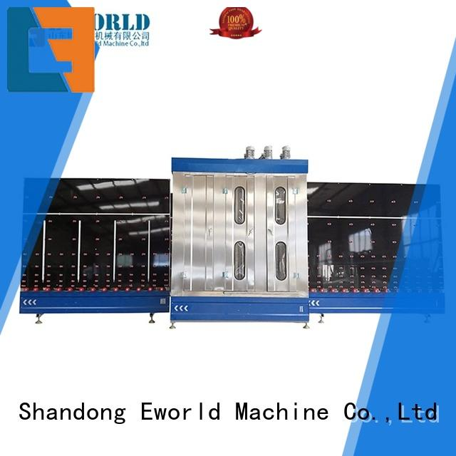 Eworld Machine automatic automatic glass washing machine supplier for industry