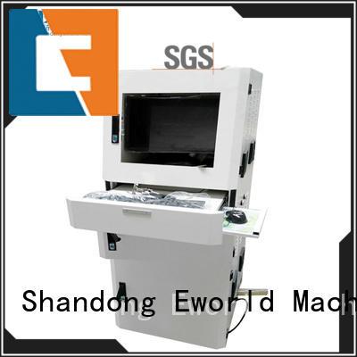 Eworld Machine tilting glass cutting machine foreign trader for machine