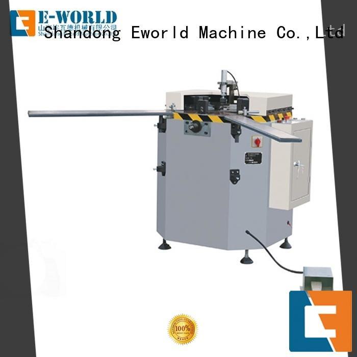 Eworld Machine double aluminium crimping machine supplier for industrial production