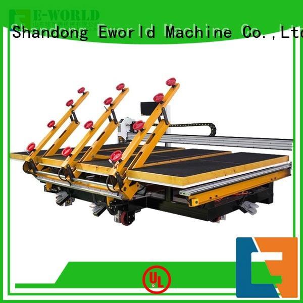 Eworld Machine horizontal cnc glass cutting machine foreign trader for sale
