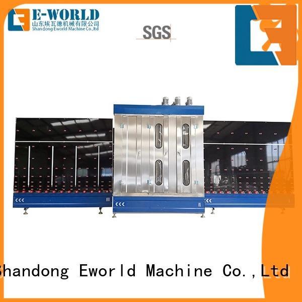 Eworld Machine trade assurance flat glass washing machine factory for manufacturing