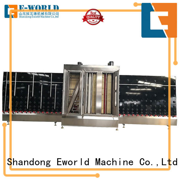 Eworld Machine technological automatic glass washing machine factory for industry
