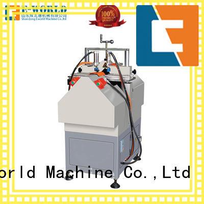 Eworld Machine doorwindow upvc welding machine order now for industrial production