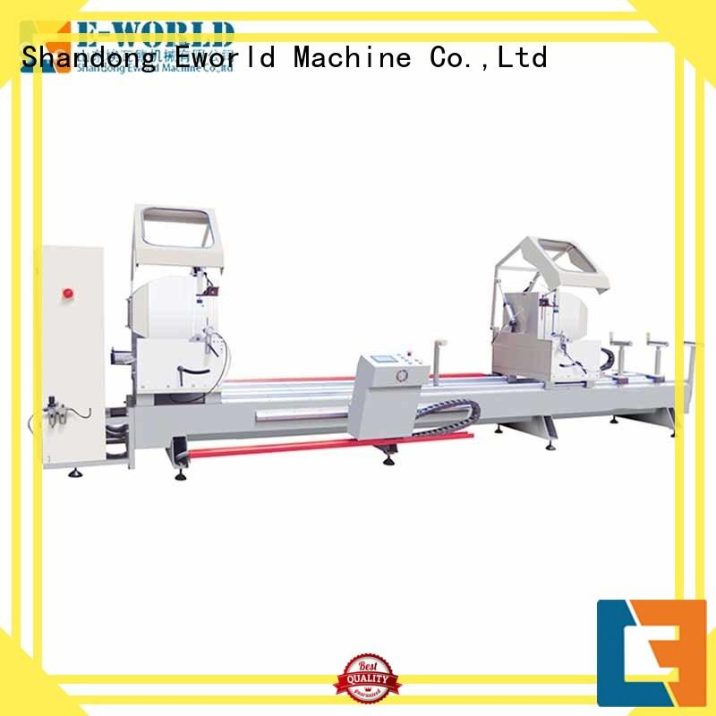 Eworld Machine trade assurance aluminum window making machine OEM/ODM services for global market