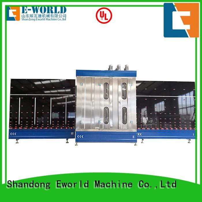 Eworld Machine washing industrial glass washing machines factory for distributor
