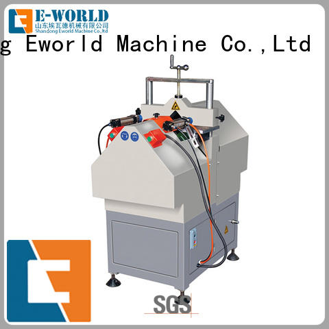 Eworld Machine glazing pvc door window machine factory for manufacturing