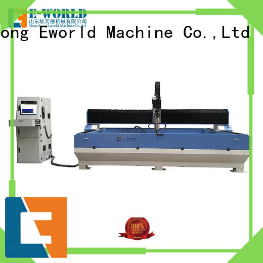 Eworld Machine high reliability cnc glass processing machine shaped for sale