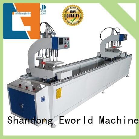 High quality UPVC window making machine