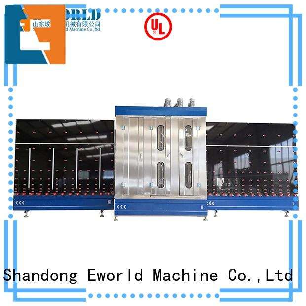 Eworld Machine technological glass washing and drying machine international trader for industry