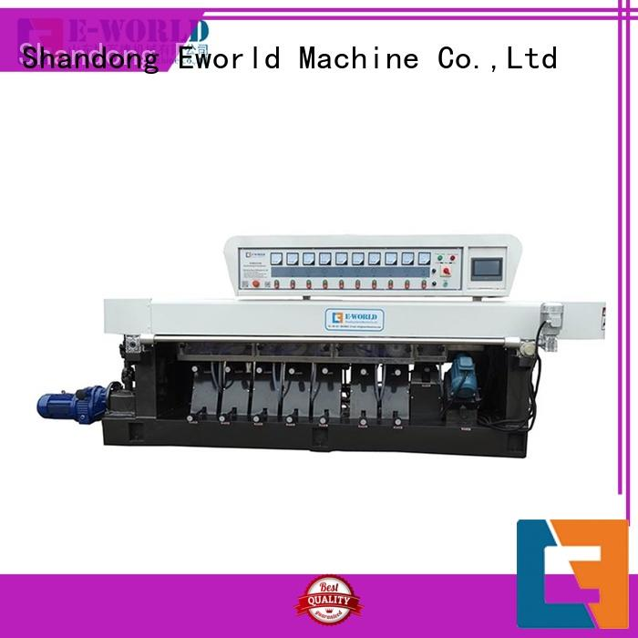 Eworld Machine fine workmanship glass pencil edge polishing machine manufacturer for industrial production