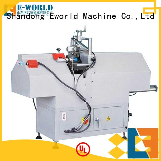 Eworld Machine profile PVC window production line supplier for importer