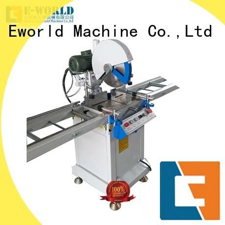 Eworld Machine mullion upvc window making machine factory for manufacturing