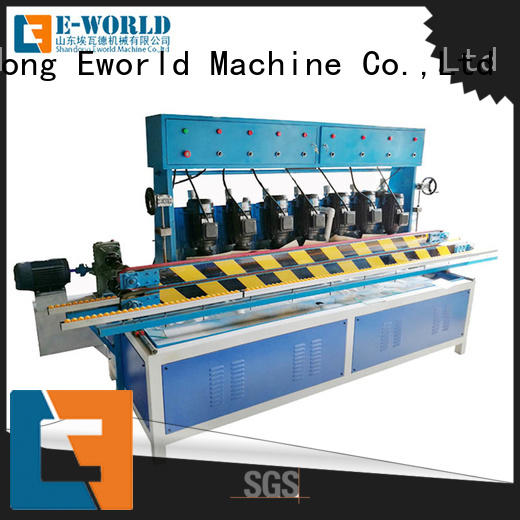 Eworld Machine fine workmanship small glass edge polishing machine OEM/ODM services for global market