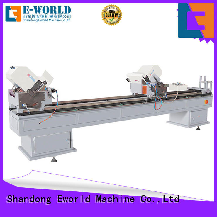 latest pvc window machine single factory for manufacturing