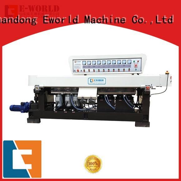 Eworld Machine fine workmanship glass shape beveling machine multi for industrial production