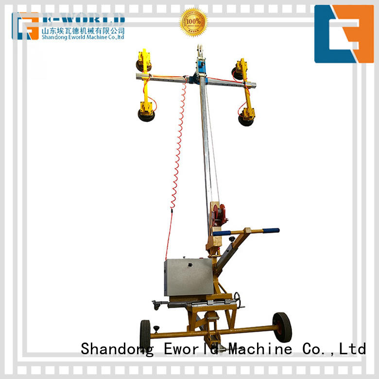 Eworld Machine equipment double cup suction lifter for industry