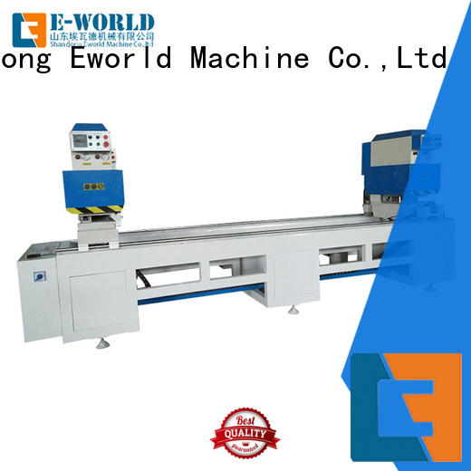 latest upvc window machine price supplier for industrial production