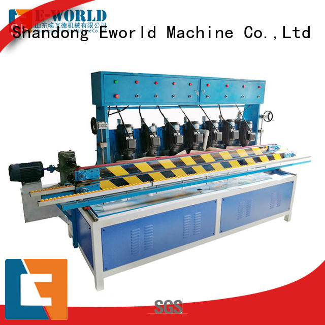 Eworld Machine side glass edge processing machine OEM/ODM services for manufacturing