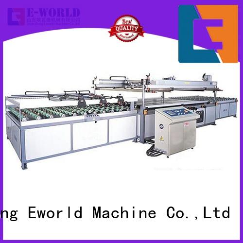 Eworld Machine original glass silk screen printing machine exporter for industrial production