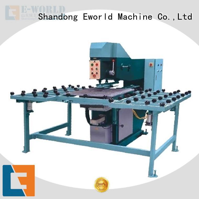 Eworld Machine glass glass drilling machine maker for distributor