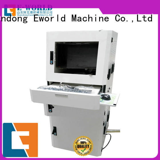 Eworld Machine good safety cnc glass cutting exquisite craftsmanship for machine