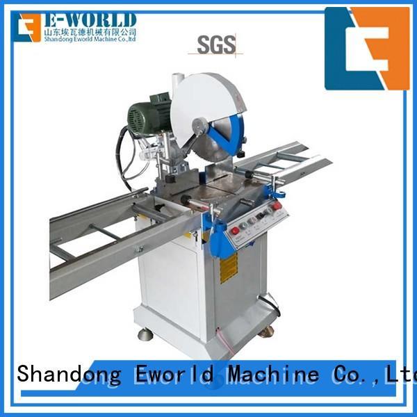 Eworld Machine double upvc windows doors equipment supplier for industrial production