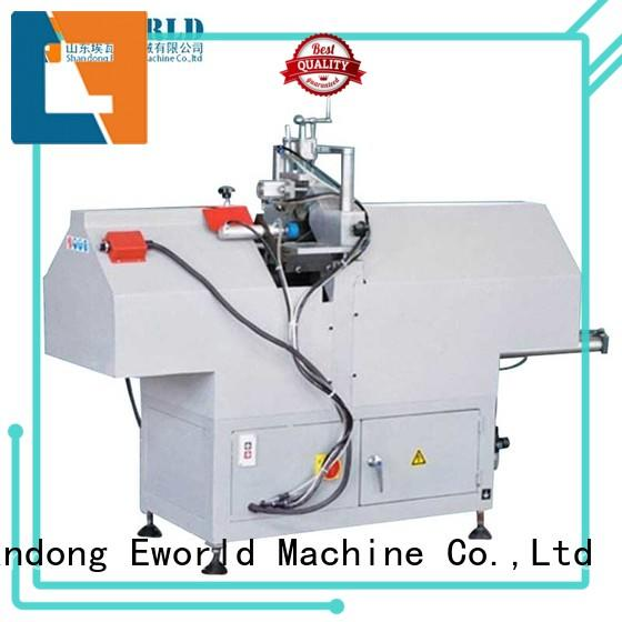 Eworld Machine head pvc window machine supplier for importer
