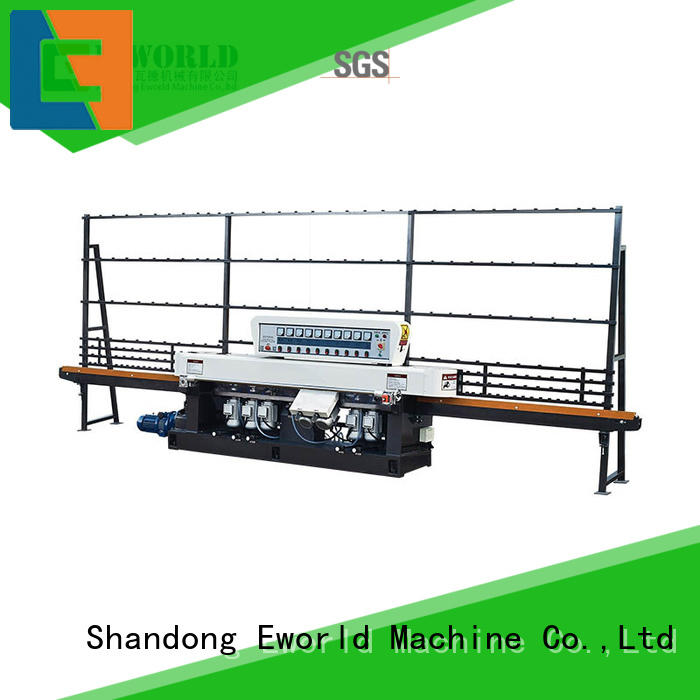 Eworld Machine technological shape glass grinding machine supplier for manufacturing