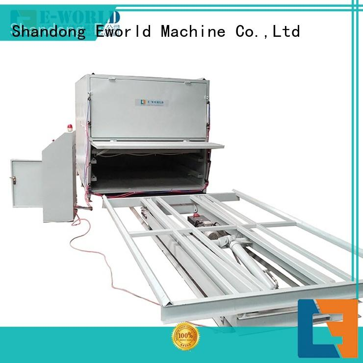 Eworld Machine fine workmanship laminated glass furnace great deal for manufacturing