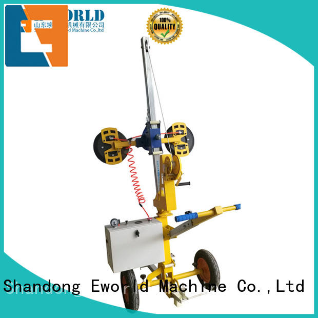 Eworld Machine standardized glass loading unloading lifter supplier for distributor
