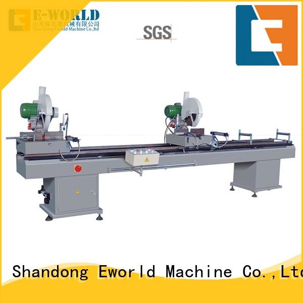 Eworld Machine latest upvc window manufacturing equipment supplier for importer
