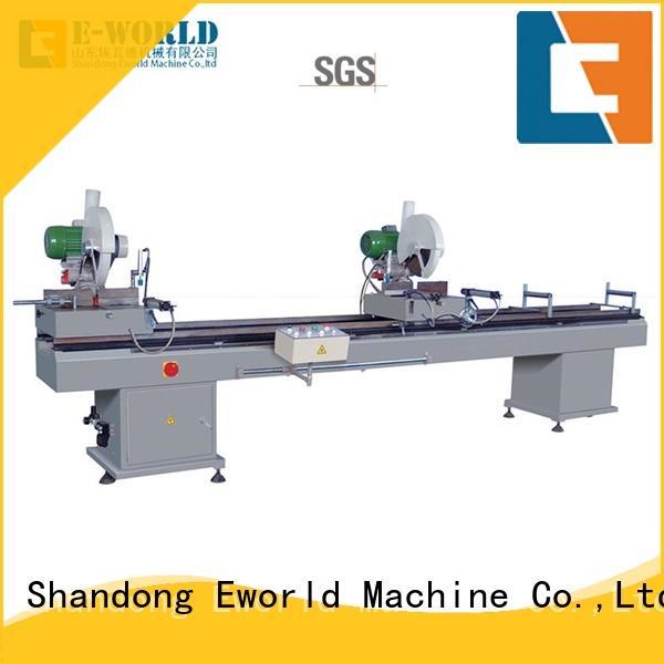 Eworld Machine latest upvc window manufacturing equipment supplier for importer