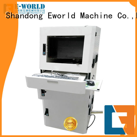 Eworld Machine high reliability manual mosaic glass cutting table foreign trader for machine