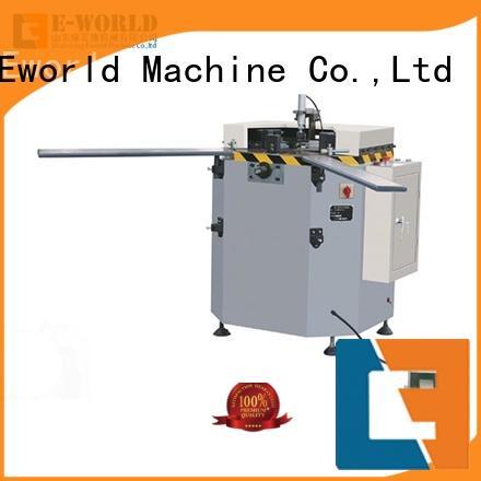 milling aluminum double head cutting window machine manufacturer for global market Eworld Machine