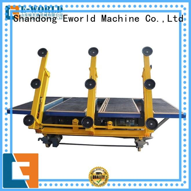 Eworld Machine good safety glass cutting machine for sale foreign trader for industry