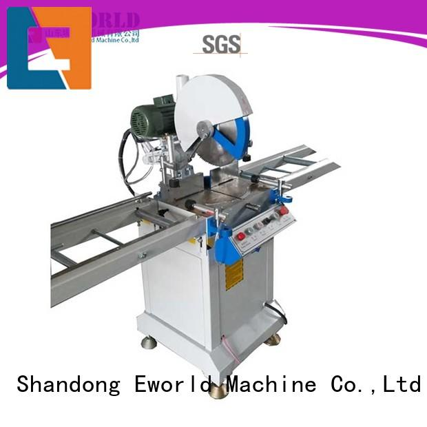 Eworld Machine customized upvc window making machine order now for manufacturing